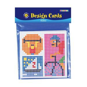 Playbox - Mönsterkort midi-pärlor, 108 motiv