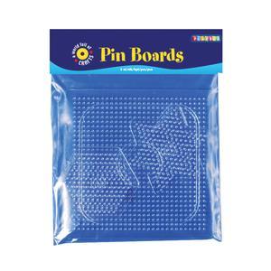 Playbox - Pärlplattor midi, mix, 3 st, transparenta