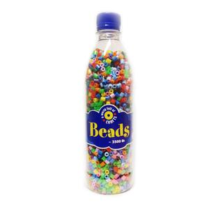 Playbox - Midi-pärlor i flaska, 3500 st, sommarmix