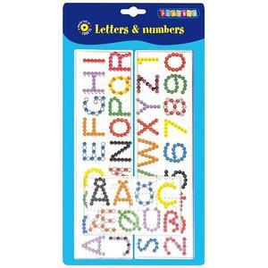 Playbox - Pärlplattor bokstäver